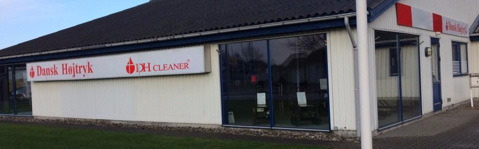Vores kontor og værksted i haarby