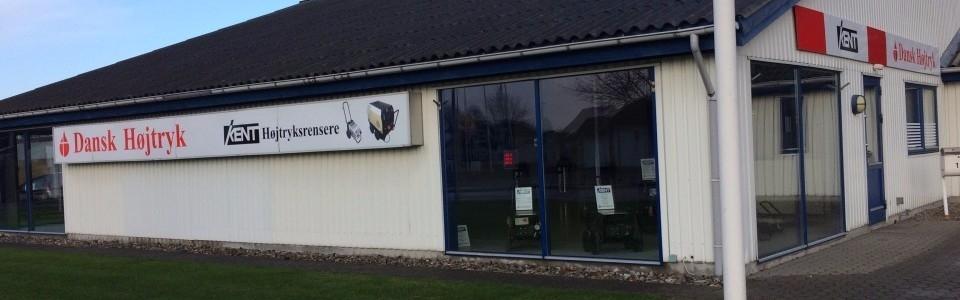 Dansk Højtryk bygning Haarby